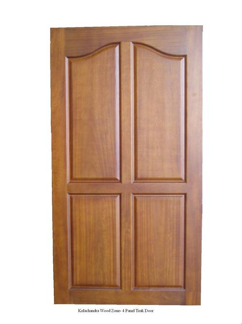 Solid Wood Panel Door In Chingavanam Kottayam Exporter