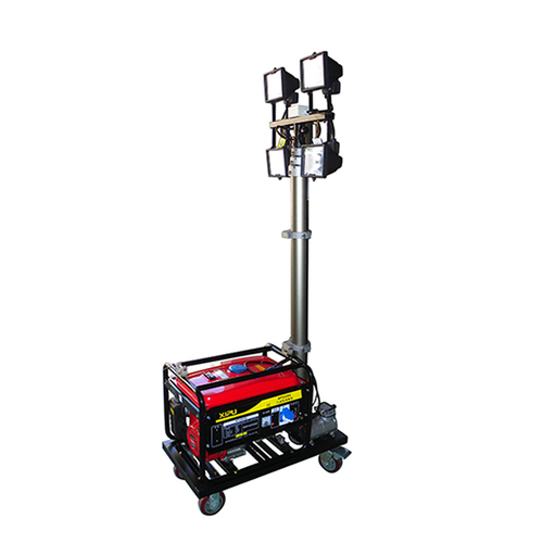 portable gasoline generator mobile light tower in wuxi