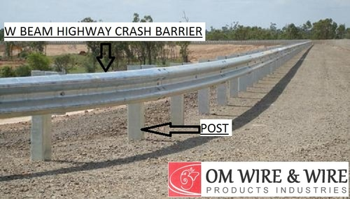 W Beam Highway Crash Barrier in  Strand Road