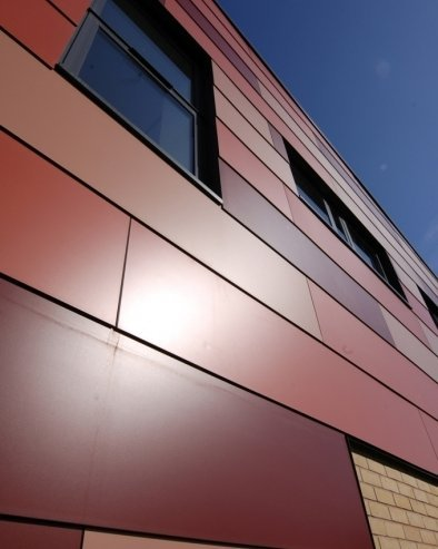 Alucobond Aluminum Composite Panel In Zhujiang Road Wuxi Exporter And Manufacturer