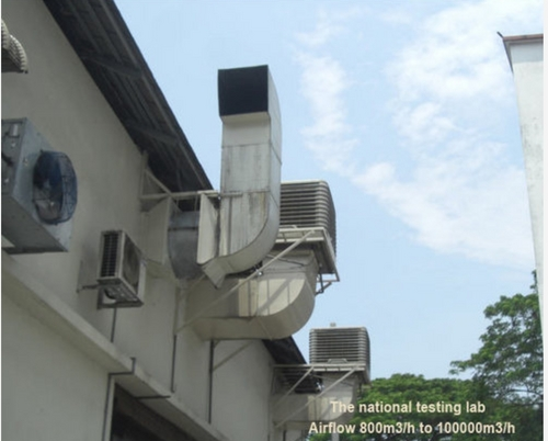 hot evaporative air cooler in cangshan district