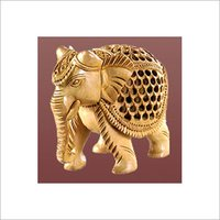 Wooden Carving Elephants And Statues
