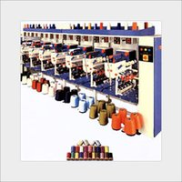 Semi Automatic Sewing Thread Machine