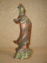 Kwanyin Standing Statue