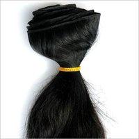 BLACK HAIR WEFT