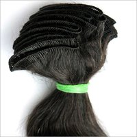 MACHINED HAIR WEFT