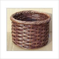 Round Planter With Rolled Rim