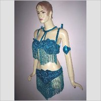 Embroidered Dance Costume