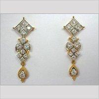 Diamond Ear Tops