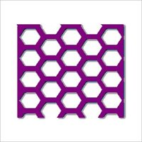 Perforated Sheet - Hexagon Design