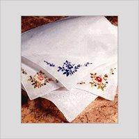 Ladies Embroidered Handkerchiefs
