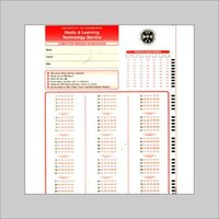 Student OMR Sheets