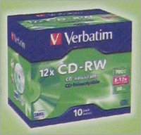 REWRITABLE CD PACK
