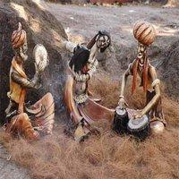 Indian Village Miniature