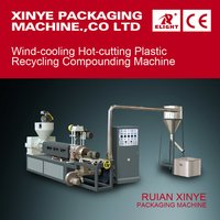 Wind Cooling Hot-Cutting Plastic Recycling Compounding Machine