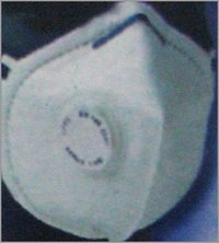 SAFETY MASK WITH ONE EXHALATION VALVE