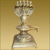 Shivling Cobra With Shiva Head
