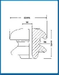 L.T. Shackle Insulators