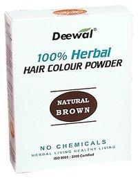 Herbal Hair Colour Powder (Natural Brown)