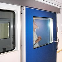 Clean Room Fire Retardant Door