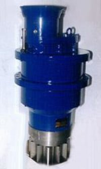 Helical Planetary Slew Reducer