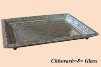 Steel Glass Trays