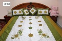 Embroidery Bed Cover