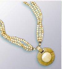 Beaded Bone Necklace