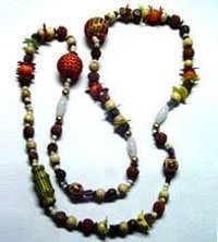 Multi Color Beaded Necklace