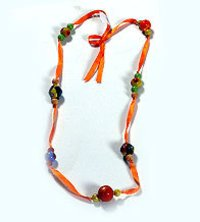 Red Bead Necklace