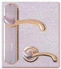 Parish (Gold/Silver) Conceal Door Handle