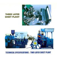 Two And Three Layer HIP PP Sheet Plant