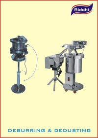 Deburring And Dedusting Machine