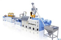 PP Plastic Hollow Cross Section Plate Extrusion Line