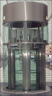 Elevator Glass Capsule