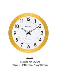 Model - 2299 Joint-Less Wooden Office Clock