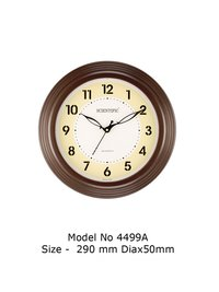 Model - 4499-A Joint-Less Wooden Office Clock