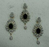 Margaret American Diamond Pendant Set