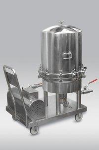 Pharmaceutical Sparkler Filter Press