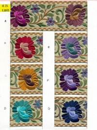 Parsi Embroidery Lace