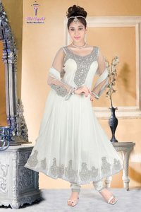 Elegant Gorgette Anarkali Suit