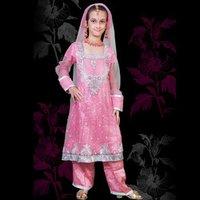 Designer Pink Salwar Suits