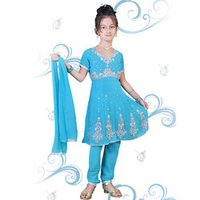 Embroidery Kids Party Wear
