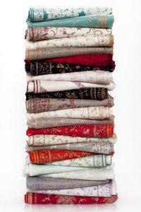 Needle Work Pashmina Shawl