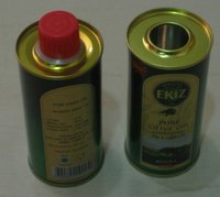 Tin Plate Oil Container