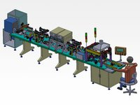 Automatic Producing Assembly Line Of Transformer