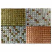 Glass Mosaic Tiles (Metallic Finish)