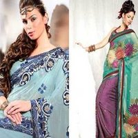 Colorful Fancy Sarees