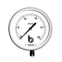 Pressure-Gauge (Bourdon Tube Type)