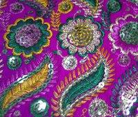 Embroidered Rumala Sahib Fabrics
